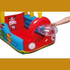 Pelotero Tren C/pelotas 132x94x89 Bestway Fisher Price 93503
