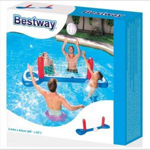 Set De Voley Inflable Pileta 244x64 Cm Bestway 52133