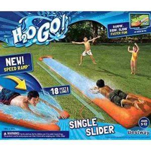 Tobogan Pista H2o Single Slider Grande 549 Cm Bestway 52198