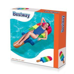 Helado Inflable Flotador Pileta 180x72 Cm Bestway 43161