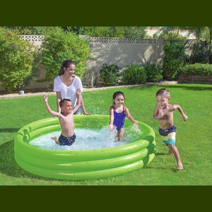 Pileta Inflable Bebe Niños 3 Aros 183x33 Cm Bestway 51027
