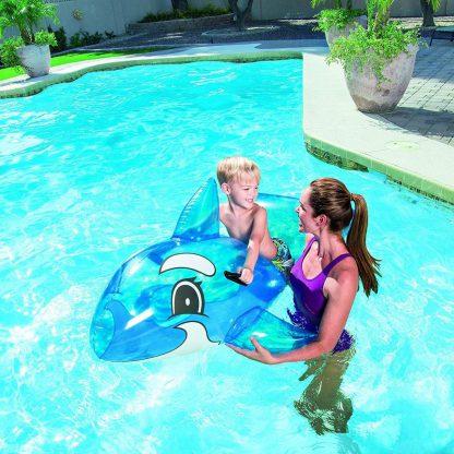 Flotador Ballena Infantil Niño Inflable Pileta Bestway 41037