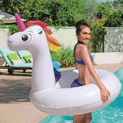 Unicornio Grande Colchoneta Inflable Pileta Bestway 36123