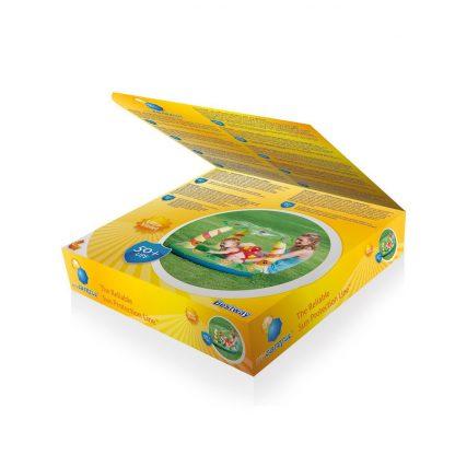 Pileta Inflable Techo Selva Infantil Bebes Bestway 52179